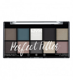 NYX PROFESSIONAL MAKEUP Палетка теней Perfect Filter Shadow Palette - Gloomy Days 04
