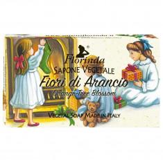 FLORINDA Мыло растительное, цветок апельсинового дерева / Fiori Di Arancio 100 г