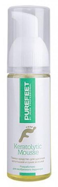 IRISK PROFESSIONAL Средство пенное для удаления натоптышей и мозолей / PureFeet Keratolytic Mousse 60 мл
