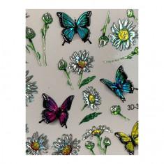 AnnaTkacheva,3D-слайдерCrystal№337 «Цветы. Бабочки» Anna Tkacheva