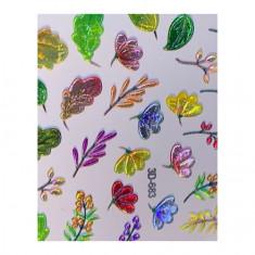 AnnaTkacheva,3D-слайдерCrystal№683 «Осень. Листья» Anna Tkacheva