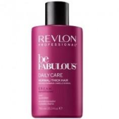 Revlon Professional Be Fabulous C.R.E.A.M. Conditioner - Кондиционер для нормальных, густых волос, 750 мл