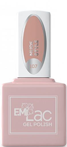 E.MI 107 гель-лак для ногтей / E.MiLac Nude Style 9 мл