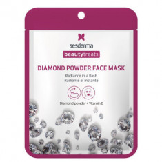 Маска для сияния кожи Sesderma BEAUTYTREATS Diamond powder face mask 22мл