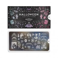 MoYou London, Плитка для стемпинга Halloween №06