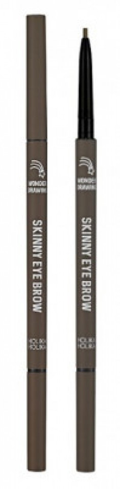 Карандаш для бровей Holika Holika Wonder Drawing Skinny Eye Brow 05 пепельно-коричневый 0,5 г