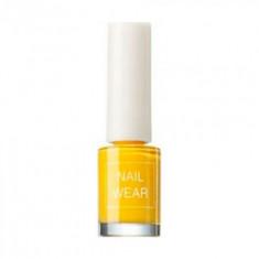 Лак для ногтей The Saem Nail Wear 23_ Forsythia Yellow 7мл