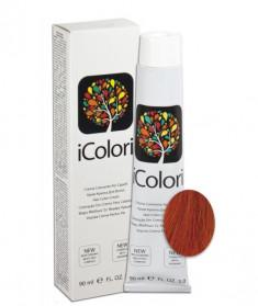 KAYPRO 7.44 краска для волос, блондин медный интенсивный / ICOLORI 90 мл
