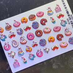 AnnaTkacheva,3D-слайдер№658 «Сладости. Пончики» Anna Tkacheva