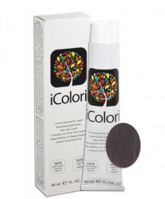 KAYPRO 7.18 краска для волос, ледяной шоколадный блондин / ICOLORI 90 мл