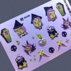 AnnaTkacheva,3D-слайдерHT№240 «Хэллоуин. Halloween» Anna Tkacheva
