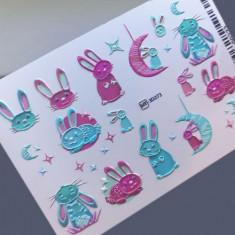 AnnaTkacheva,3D-слайдерHT№273 «Животные. Зайцы» Anna Tkacheva