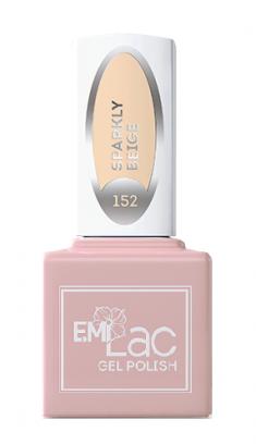 E.MI 152 WEC гель-лак для ногтей, Сверкающий беж / E.MiLac 6 мл