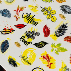 AnnaTkacheva,3D-слайдерCrystalHT№335 «Осень. Листья» Anna Tkacheva