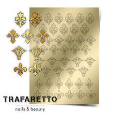 Trafaretto, Металлизированные наклейки PR-02, золото