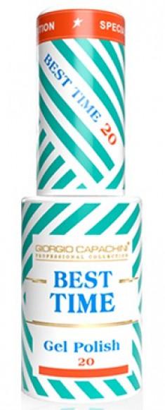 GIORGIO CAPACHINI 20 гель-лак трехфазный для ногтей / BEST TIME 8 мл