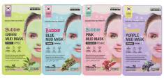 очищающая пузырьковая маска для лица с глиной mbeauty bubble mud mask