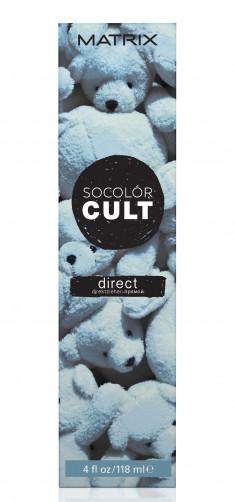 MATRIX Крем-краситель с пигментами прямого действия для волос, пыльный голубой / SOCOLOR CULT 118 мл