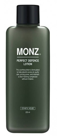 ESTHETIC HOUSE Лосьон мужской для лица / MONZ PERFECT DEFENCE LOTION 235 мл