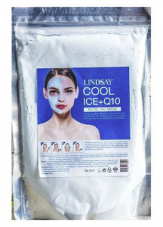 Альгинатная маска c коэнзимом Lindsay Cool Ice+Q10 Modeling Mask 240г