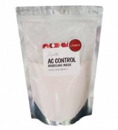 Альгинатная маска для лица лечебная для проблемной кожи LINDSAY Premium AC-control modeling mask pack zipper 240г