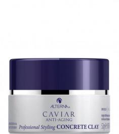 ALTERNA Глина дефинирующая сильной фиксации, с антивозрастным уходом / Caviar Anti-Aging Professional Styling Concrete Clay 52 г