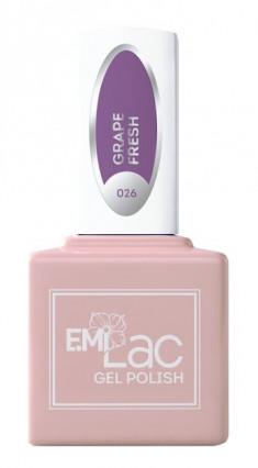 E.MI 026 гель-лак для ногтей, Виноградный фреш / E.MiLac 6 мл
