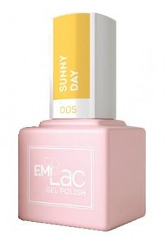 E.MI 005 гель-лак для ногтей, Солнечный день / E.MiLac 6 мл