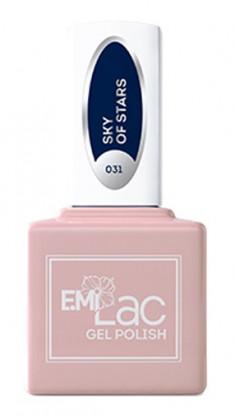 E.MI 031 гель-лак для ногтей, Звездное небо / E.MiLac 6 мл