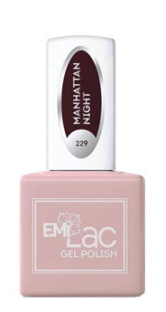 E.MI 229 RM гель-лак для ногтей, Ночь в Манхэттене / E.MiLac 6 мл