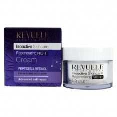 Revuele Bioactive skincare Peptides&Retinol Крем-уход для лица ночной регенерирующий 50мл