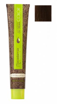 Краска для волос Macadamia Oil Cream Color 5.32 СВЕТЛО БЕЖЕВЫЙ КАШТАНОВЫЙ 100мл
