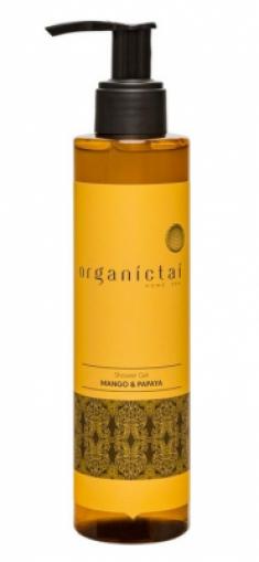 Бессульфатный гель для душа с экстрактом манго и папайи OrganicTai Home Spa Shower Gel Mango & Papaya 200 мл ORGANIC TAI